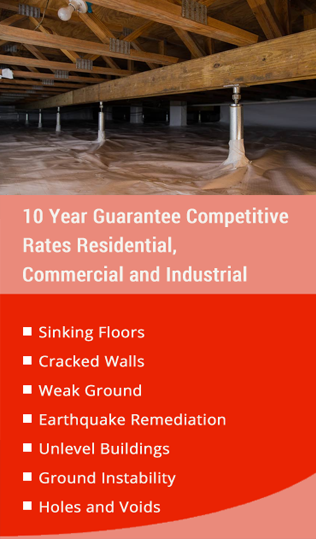 Residential & Commercial Underpinning Services